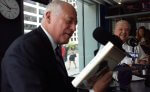 IL. Gov. Pat Quinn with Steve Dale and Decoding Dog Book