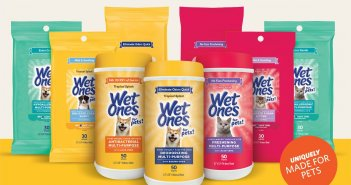 Wet Ones for Pets Canisters and Travel Paks