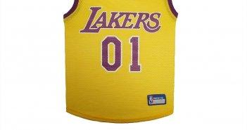 NBA dog jersey