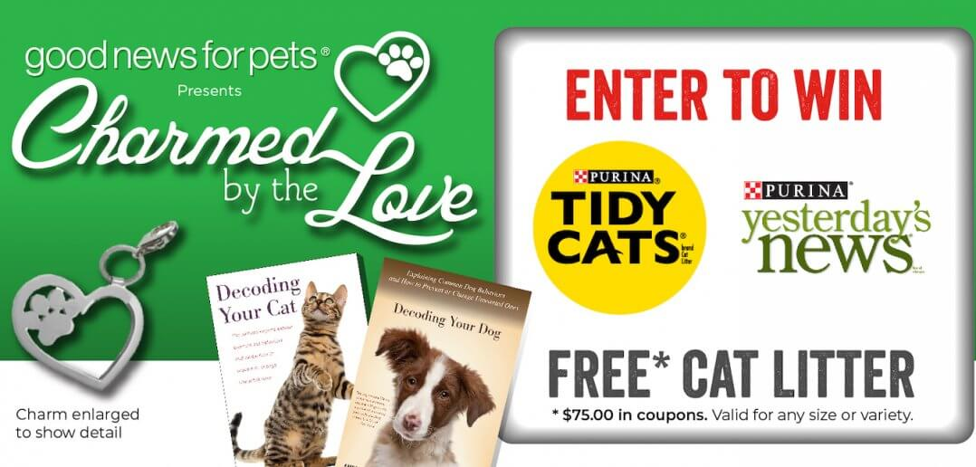Purina Returns for 10th Goodnewsforpets Charmed by the Love 20th Anniversary Contest