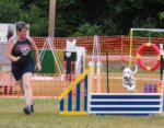 Junior Competes to Win in AKC Agility Competition